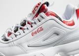 Fila x Coca Cola Disruptor II Donna