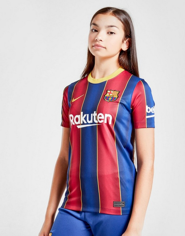Amplificar Médico Arcaico  Red Nike FC Barcelona 2020/21 Messi #10 Home Shirt Junior | JD Sports