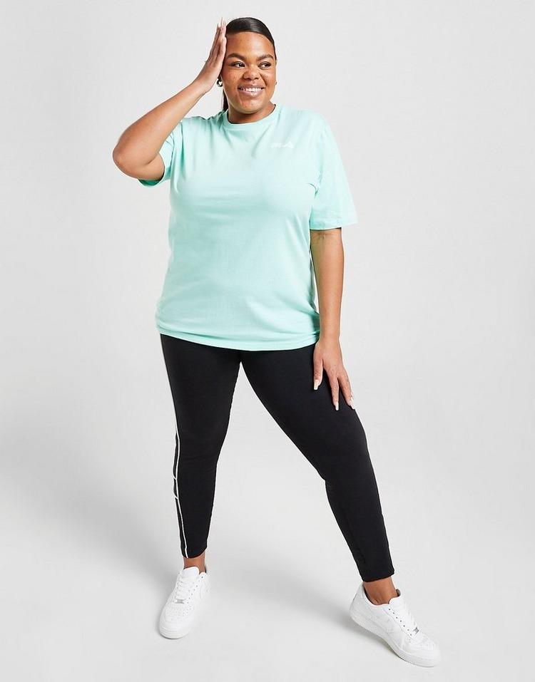 Fila Reflective Plus Size Back Logo Boyfriend T-Shirt