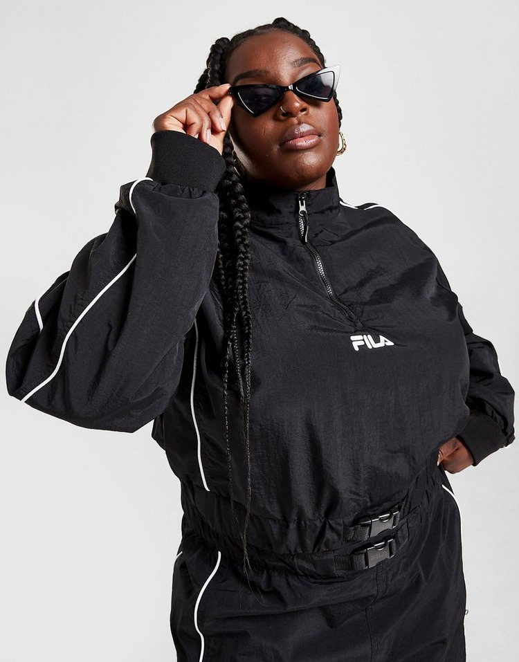 Fila Pipe Panel 1/4 Zip Plus Size Jacket