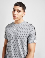 Nike Repeat All Over Print Tape T-Shirt