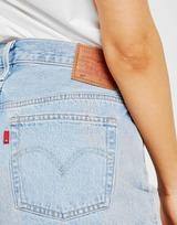 Levis 501 Distressed Denim Shorts