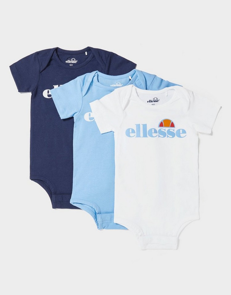 Ellesse Amealio 3 Pack Bodysuits Infant
