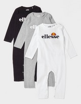 Ellesse Sulino 3 Pack Coveralls Infant