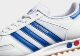 adidas Originals La Trnr Wht/blu/red$