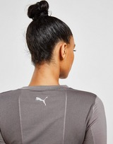 Puma evoKNIT Long Sleeve Seamless Crop Top