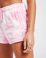 JUICY COUTURE Tie Dye Velour Shorts