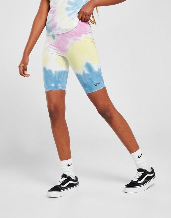 Vans Short Cycliste Tie Dye Femme