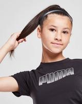 Puma Girls' Fitness Runtrain T-Shirt Junior