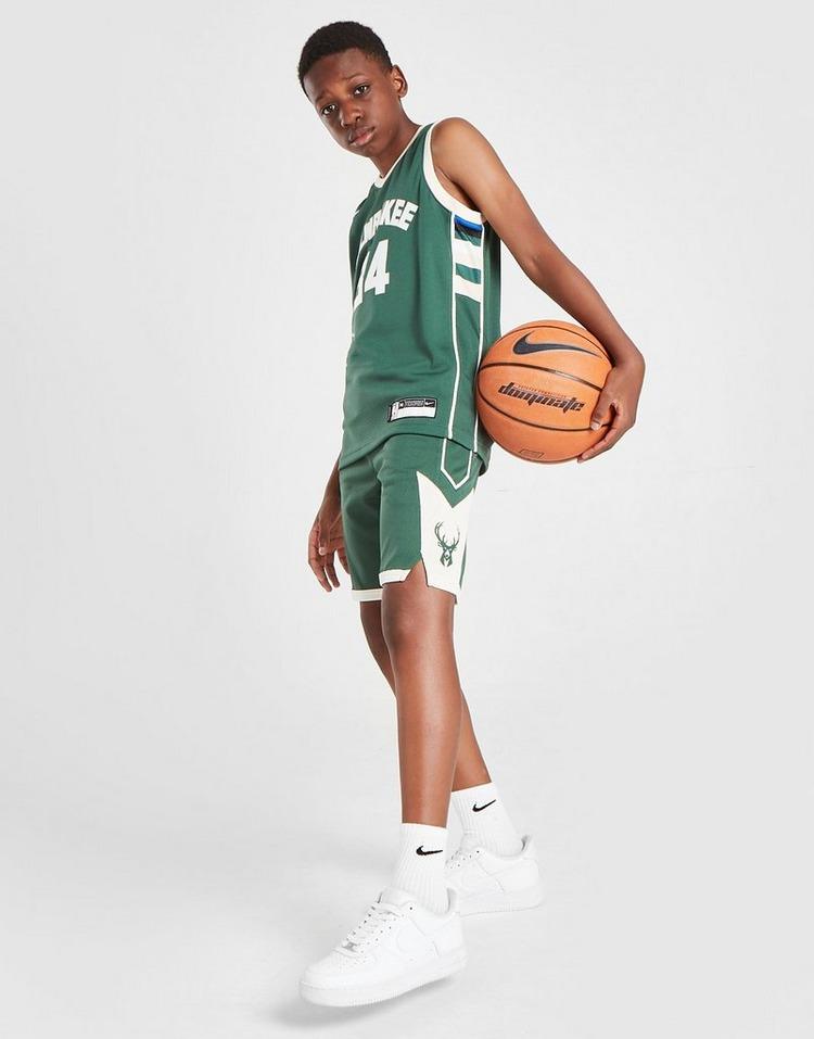 Nike NBA Milwaukee Bucks Shorts Junior