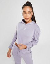 11 Degrees Sweat à Capuche Crop Femme