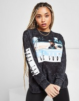 Supply & Demand T-shirt Ice Cube Photo Longues manches Femme
