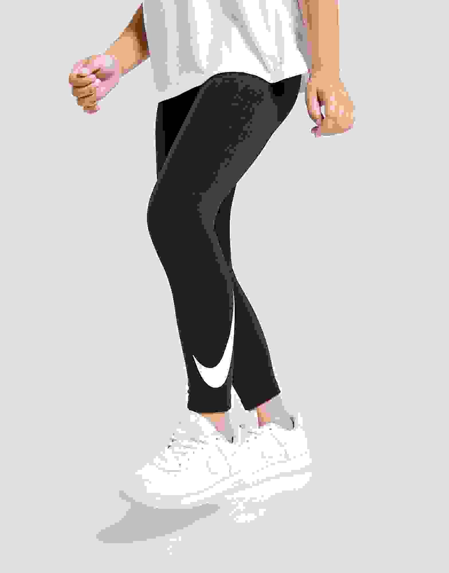NIKE girl DRI-FIT LEGGINGS 3//4Y rush pink JUST DO IT glitter leg 104
