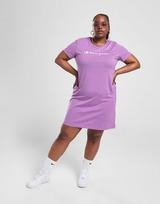 Champion Script Logo Plus Size T-Shirt Dress