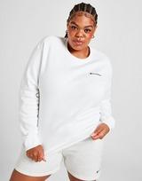 Champion Plus Size Small Logo Crew Sweatshirt