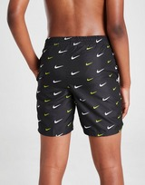 Nike All Over Print Swim Shorts Junior