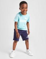 Puma conjunto camiseta/pantalón corto Essential Logo infantil