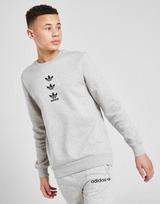 adidas Originals Repeat Trefoil Crew Sweatshirt Junior