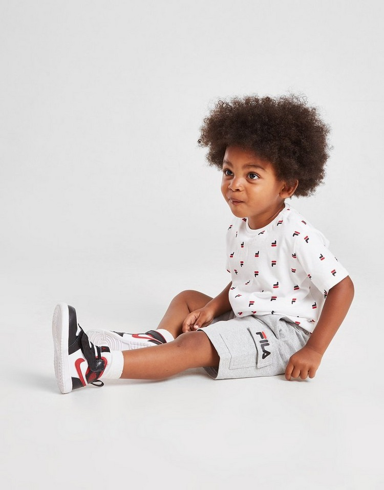 Fila Oskar All Over Print T-Shirt/Shorts Set Infant