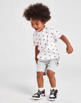 Fila Oskar All Over Print T-Shirt & Shorts Completo Neonato