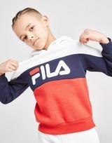 Fila James Colour Block Overhead Tracksuit Children