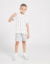 Fila Oskar All Over Print T-Shirt/Shorts Set Children
