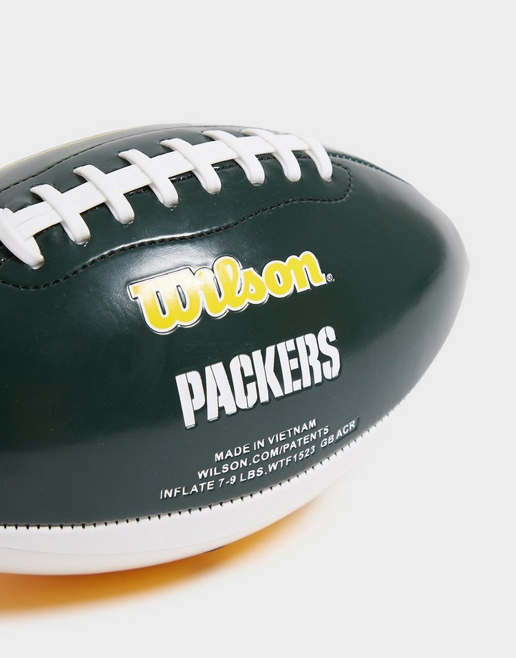 Wilson NFL Green Bay Packers City Pride Football