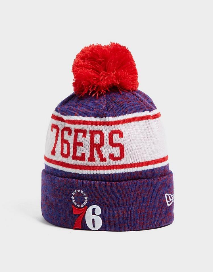 New Era NBA Philadelphia 76ers Pom Beanie Hat