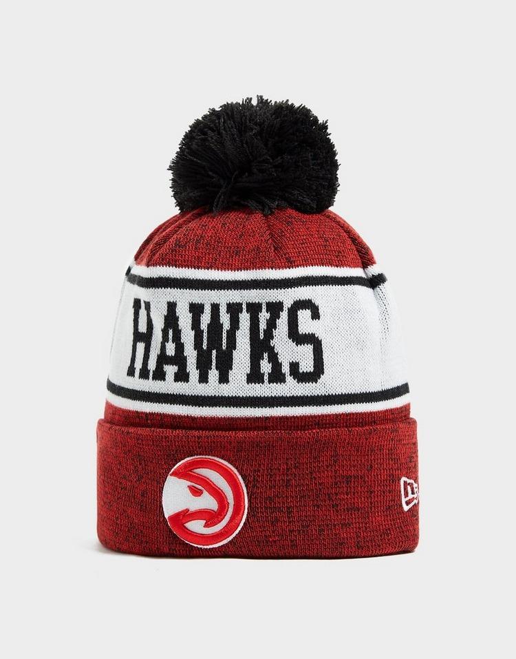 New Era NBA Atlanta Hawks Pom Beanie Hat