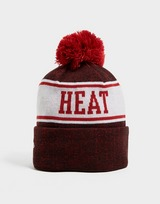 New Era NBA Miami Heat Pom Beanie Hat