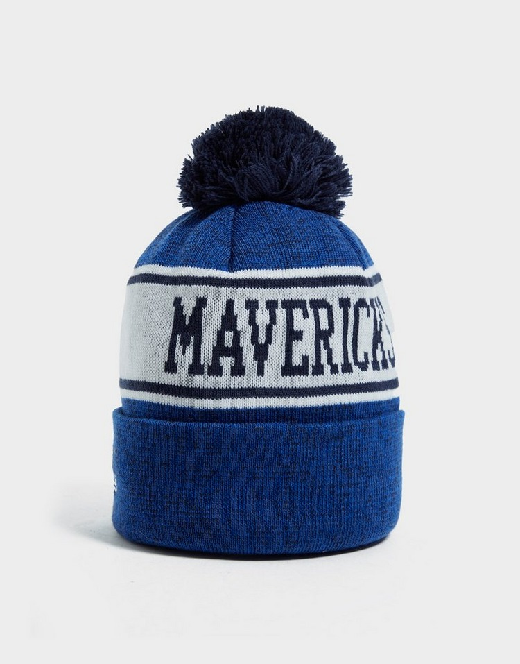 New Era NBA Dallas Mavericks Pom Beanie Hat
