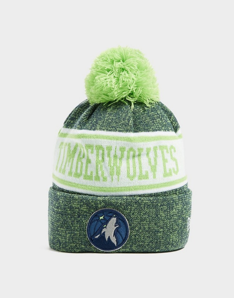 New Era NBA Minnesota Timberwolves Pom Beanie Hat