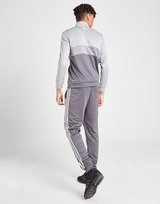adidas 1/4 Zip Poly Tracksuit Junior