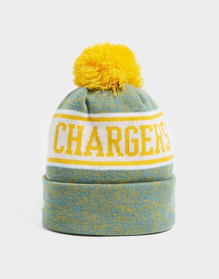 New Era NFL Los Angeles Chargers Pom Beanie Hat
