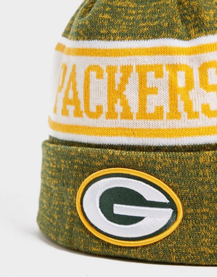 New Era NFL Green Bay Packers Pom Beanie Hat