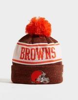 New Era NFL Cleveland Browns Pom Beanie Hat