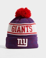 New Era NFL New York Giants Pom Beanie Hat