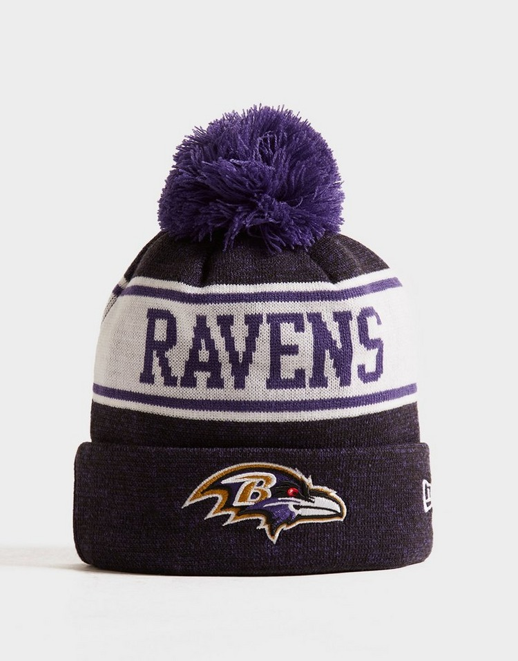 New Era NFL Baltimore Ravens Pom Beanie Hat