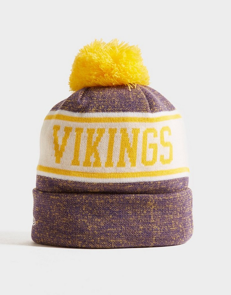 New Era NFL Minnesota Vikings Pom Beanie Hat