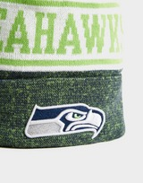 New Era NFL Seattle Seahawks Pom Beanie Hat