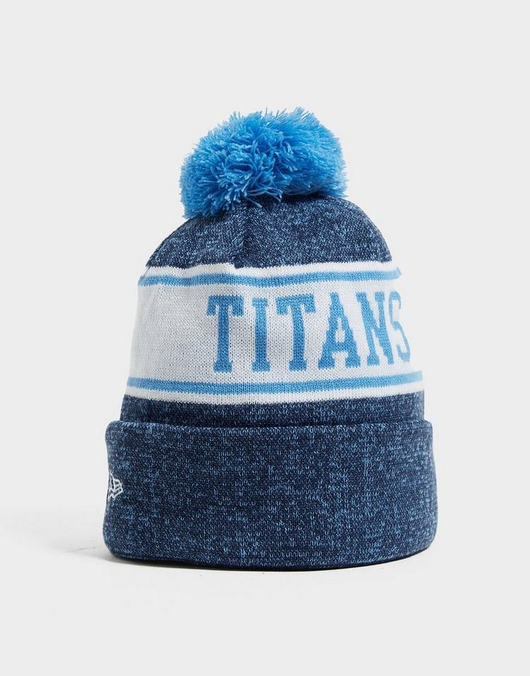 New Era NFL Tennessee Titans Pom Beanie Hat