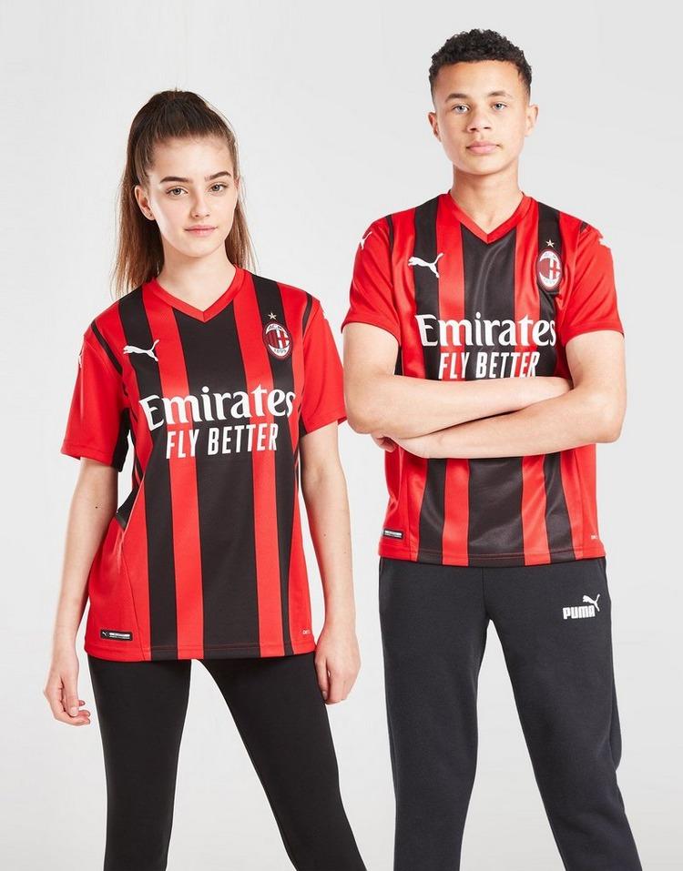 Puma AC Milan 2021 Home Shirt Junior