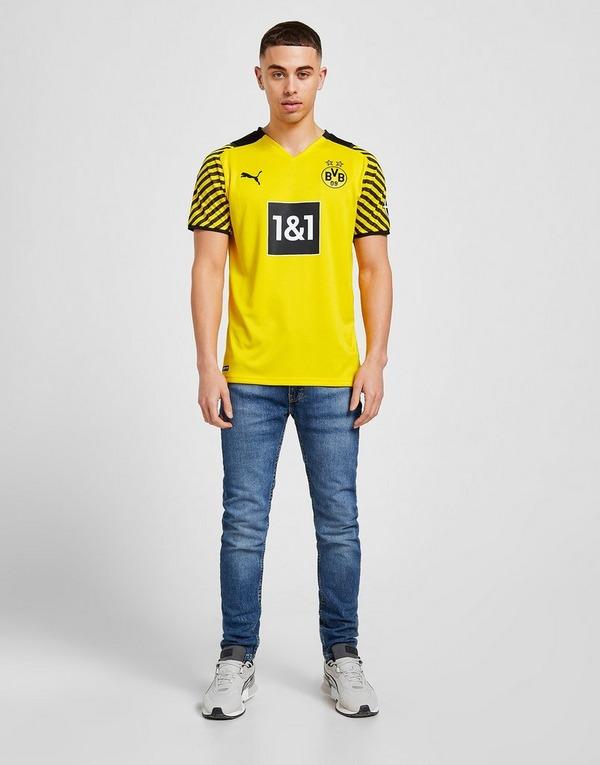Puma Borussia Dortmund 2021/22 Home Shirt in Giallo   JD Sports