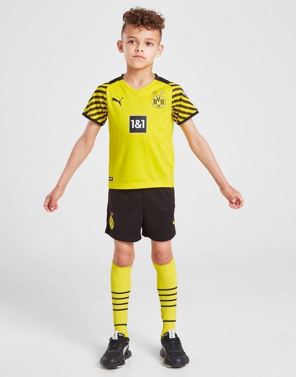 Puma Borussia Dortmund 2021 22 Home Kit Children Jd Sports