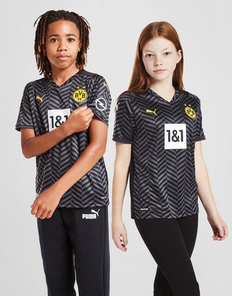 Puma Borussia Dortmund FC 2021/22 Away Shirt Junior