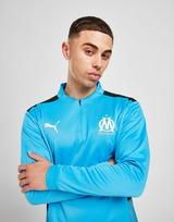 Puma Haut de Survêtement Olympique de Marseille 1/4 Zippé Homme