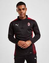 Puma Haut d'entraînement AC Milan 1/4 Zip Homme