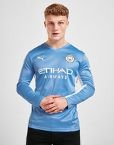 Puma Manchester City FC 2021/22 Long Sleeve Home Shirt