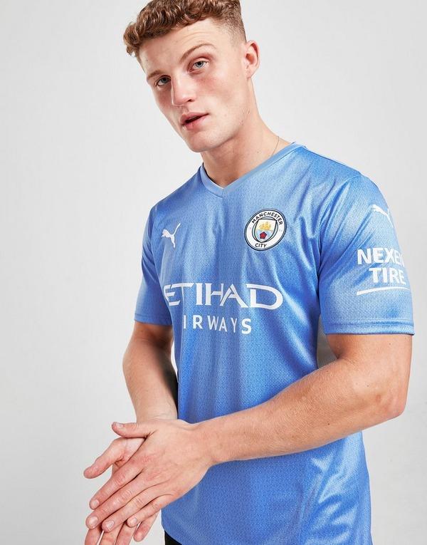 Blue Puma Manchester City Fc 2021 22 Home Jersey Jd Sports