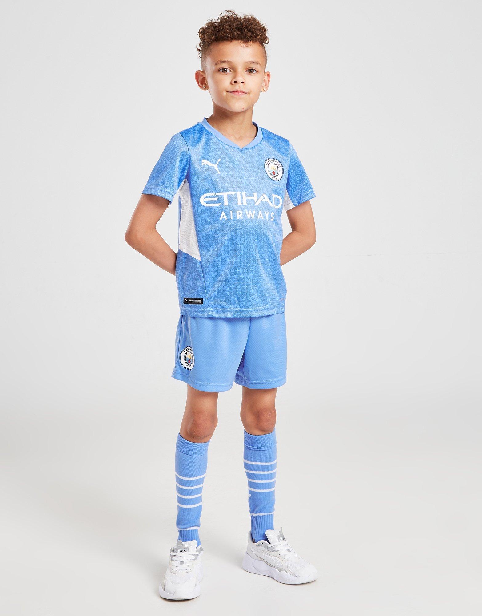 Puma Manchester City Fc 2021 22 Home Kit Children